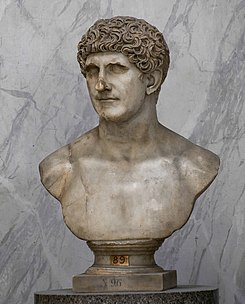 Marcus Antonius marble bust in the Vatican Museums.jpg