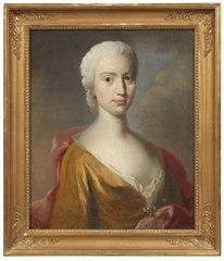 Maria Elisabeth Coyet (1716-1772), married to Baron and Captain of the Horse, Jacob Ludvig Maclean