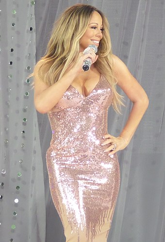 "Renowned for her vocal range, American singer-songwriter Mariah Carey has been called the ""Songbird Supreme"". MariahGMA.jpg"