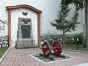 Monument to the builders of the Mariazellerbahn