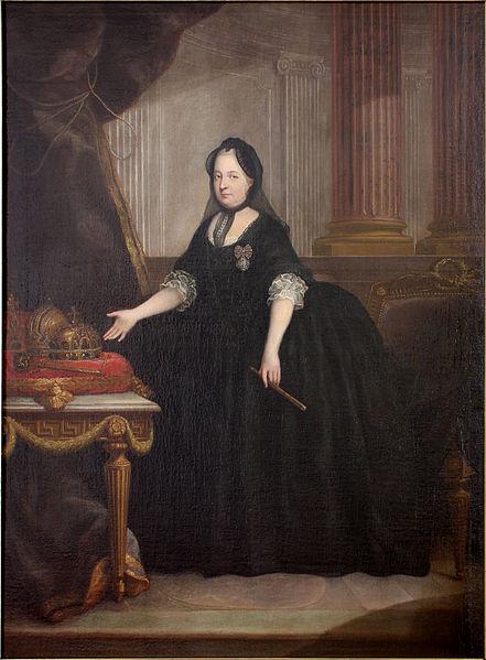 Marie Terezie po smrti manžela
