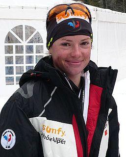 Marie Dorin Habert French biathlete