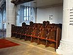 Marienstiftskirche Lich Chorstuhl 03.JPG