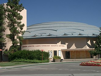 Marin County Civic Center - Veterans Memorial Auditorium