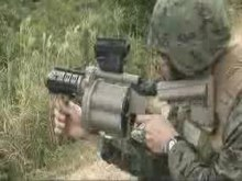 File:Marines are training with M32 grenade launcher.ogv