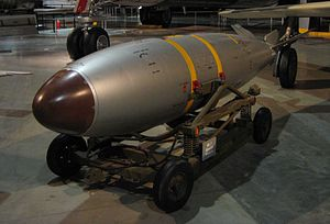 Mark 7 nuclear bomb - Mark 7 nuclear bomb at USAF Museum