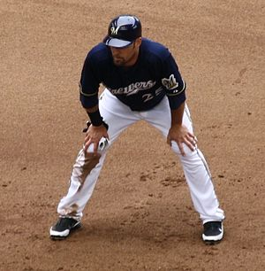 Mark Kotsay - Kotsay with the Milwaukee Brewers