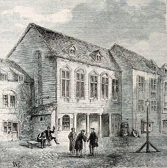 Marshalsea - Image: Marshalsea prison, London, 18th century (3)