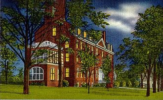 Sentara Martha Jefferson Hospital - Martha Jefferson Hospital, circa 1915.