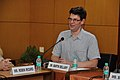 Martin Bellamy Speaks - Opening Session - Collections and Storage Management Workshop - NCSM - Kolkata 2016-02-18 9619.JPG
