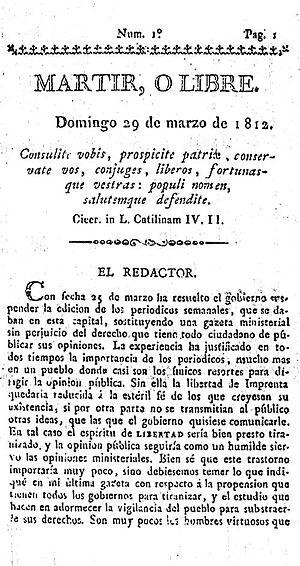 Bernardo de Monteagudo - Wikipedia, la enciclopedia libre