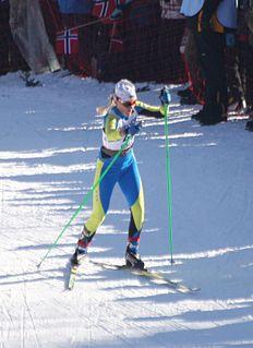 Maryna Antsybor Ukrainian cross country skier