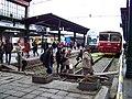 Masarykovo nádraží, provizorní přechod.jpg