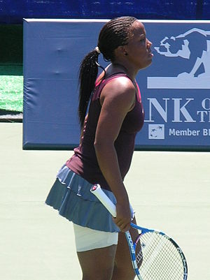 Mashona Washington - Image: Mashona Washington at Bank of the West Classic qualifying 2010 07 25 1