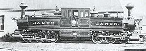 Fairlie locomotive - Mason Janus, 1877