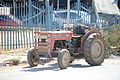 Massey Ferguson 240 tractor in the streets of Jenin, West Bank 005 - Aug 2011.jpg