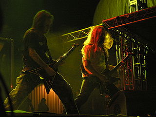 The Ugly World Tour 2011 Children of Bodom tour