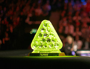 Masters (snooker) - The Masters trophy used since 2004