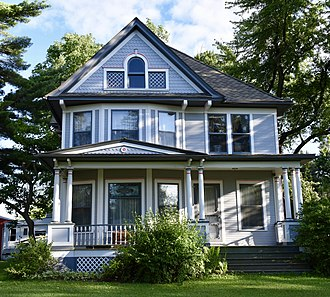 National Register of Historic Places listings in Buchanan County, Iowa - Image: Mathias C. And Eva B. Crowell Funrman Farm