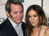 Matthew Broderick and Parker in 2009