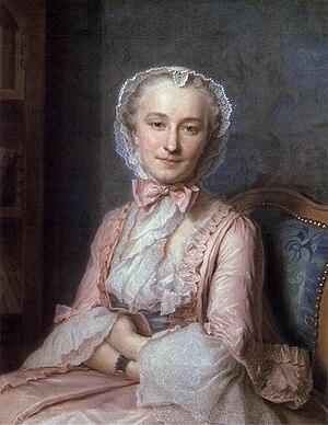 Marie Sallé - Image: Maurice Quentin de La Tour, Retrato de Mademoiselle Sallé (1741)