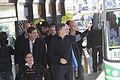 Mauricio Macri inauguró el Metrobus Sur (9570646515).jpg