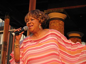 Mavis Staples - Staples performing in Brooklyn, New York in 2007