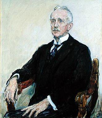 Gustav Pauli - Portrait of Gustav Pauli by Max Slevogt.