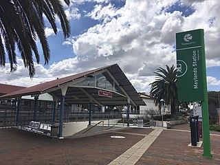 Maylands railway station Railway station in Perth, Western Australia