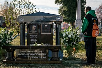 Marion Barry - Barry's memorial at Congressional Cemetery