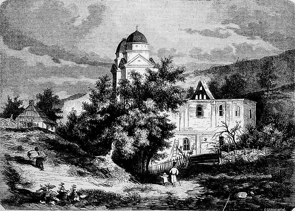 Mazyr, Zamkavaja. Мазыр, Замкавая (1865)