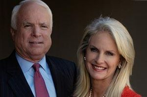 Cultural and political image of John McCain - John and Cindy McCain, c. 2007