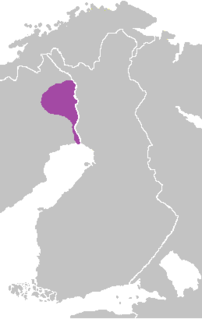 Meänkieli dialects The name used in Sweden for Finnish dialects spoken in the northernmost parts of the country around the valley of the Torne River