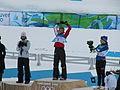 Medal for 2010 Olympics Women's 30K cross-country.jpg