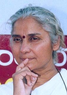 Medha Patkar Indian social activist