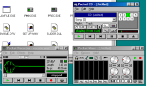 Media Vision Pro AudioSpectrum - Pro AudioSpectrum Windows 3.x software running on the Windows 95 OS