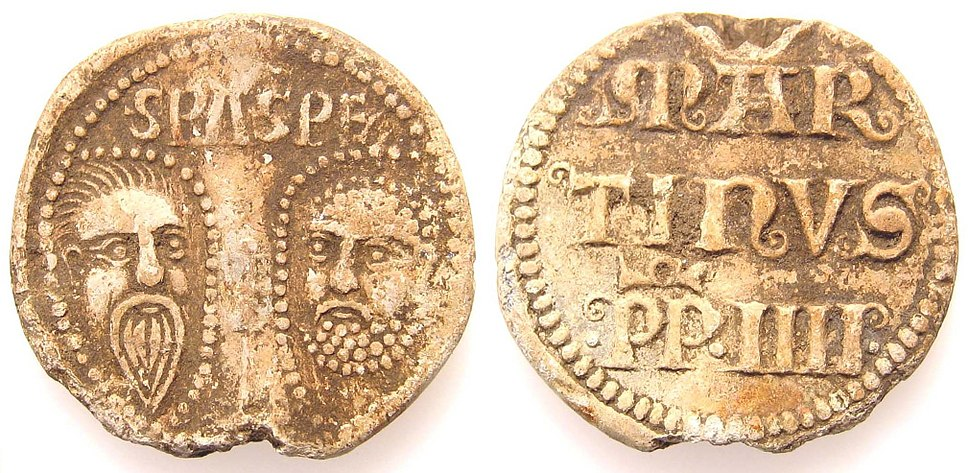 Medieval Papal bulla of Martin IV (FindID 140103)