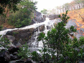 Meenmutty Falls, Thiruvananthapuram - Meenmutty Waterfalls