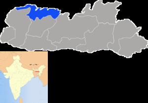 North Garo Hills district - Image: Meghalaya North Garo Hills