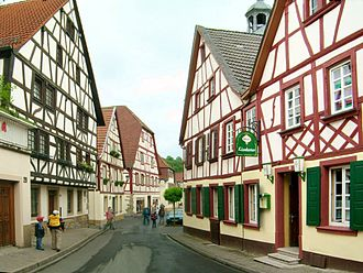 North Palatine Uplands - The Altstadt in Meisenheim