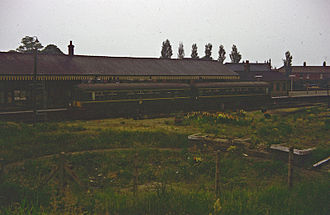 Melton Constable railway station - Melton Constable in July 1963