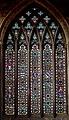 Melton Mowbray, St Mary's church, West window (44888813404).jpg