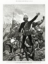 Sir George Colley at the Battle of Majuba Hill