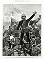 Melton Prior - Illustrated London News - The Transvaal War - General Sir George Colley at the Battle of Majuba Mountain Just Before He Was Killed.jpg