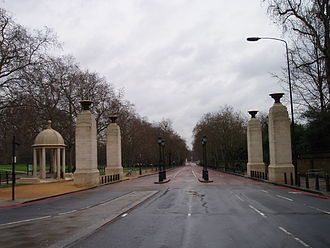 Memorial Gates, London - Image: Memorial Gates, Constitution Hill (February 2010) 18