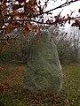Menhir du Plessis-Gamat, Saint-Brévin-les-Pins - Rear View.JPG