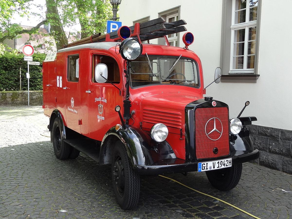 Mercedes Benz Truck >> Mercedes-Benz L 1500 S/A – Wikipedia