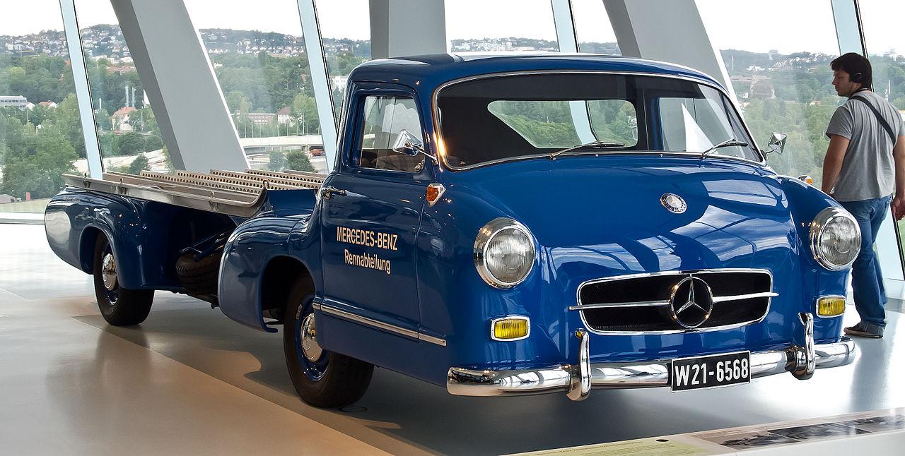 Datei mercedes benz rennwagen spezialtransporter for Mercedes benz in vance al