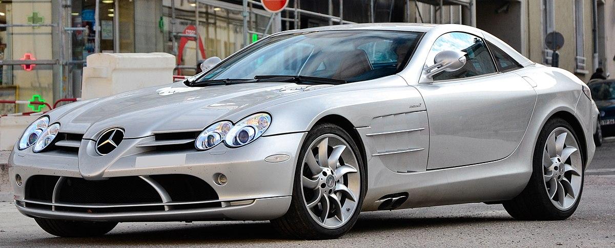 Mercedes benz slr mclaren wikipedia for Mercedes benz mclaren slr