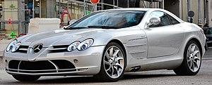Mercedes-Benz SLR McLaren - Image: Mercedes Benz SLR Mc Laren (8615973055) (cropped)